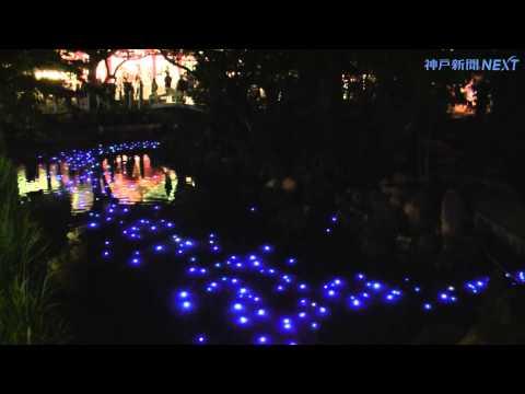 西宮神社に天の川