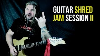 Guitar Shred Jam Session II