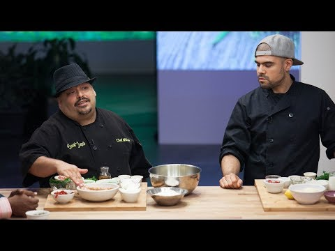Chef Mike DeLao On NETFLIX - Cooking On High