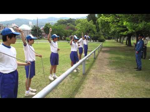 広島市立中広中学校 職場体験学習 自衛隊2