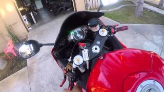 9. 2014 Yamaha YZF-R6 with Yoshimuar exhaust