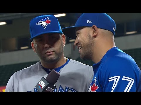 Video: Morales wasn't thinking anything special, just wanted hard hits