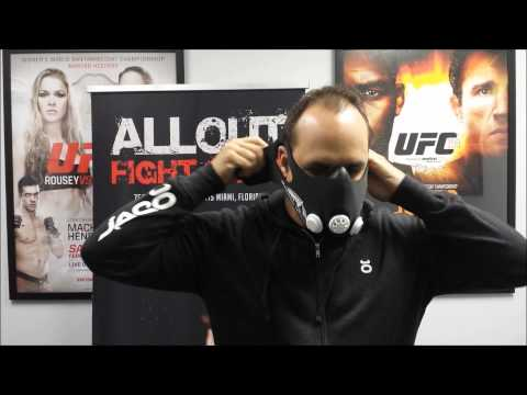 Elevation Training Mask 2.0 Unboxing/Review by AlloutFightShop.com