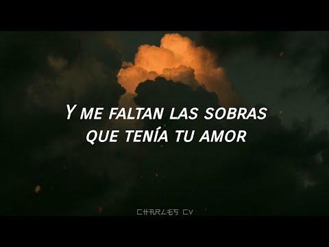 Antonio Orozco - Entre Sobras Y Sobras Me Faltas [Letra/Lyrics]