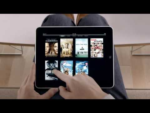 Official Apple iPad Commercial (видео)