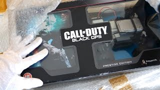CALL OF DUTY BLACK OPS PRESTIGE EDITION! Unboxing RCXD & Hardened (Zombies Maps Code)