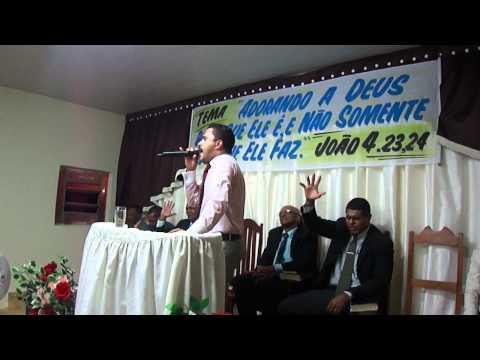 Pr .ALEXANDRE RODRIGUES,  DIA COM DEUS EM ARRAIAS-TO. 03