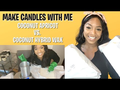 HOW TO MAKE A CANDLE USING COCO APRICOT VS COCO HYBRID | ENTREPRENEUR SERIES EP. 8