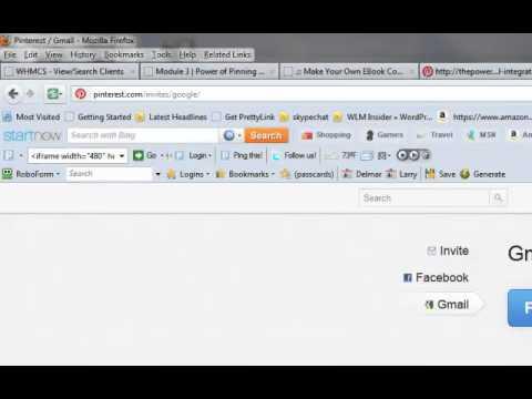 Gmail Integration For Pinterest – L1 V9