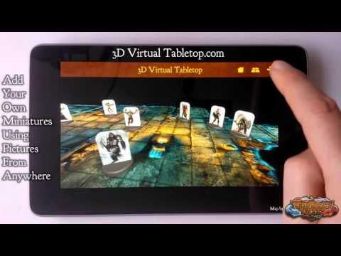 Video of 3D Virtual Tabletop