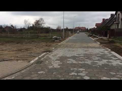 Wideo1: Budowa ulic Czeskiej i Węgierskiej we Wschowie na ukończeniu