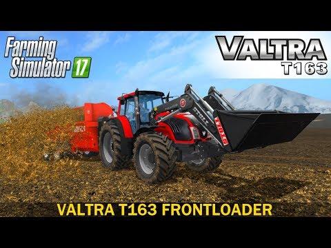 VALTRA T163 Frontloader configuration v1.0