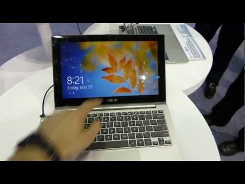 ASUS ZenBook UX21A FullHD Windows 8 UltraBook - mobilxTV