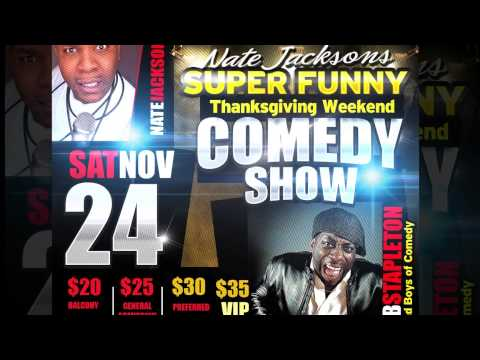 nate jackson thx giving comedy show 2012 final