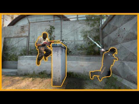 Как сделать прыжок на колёсико в кс