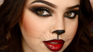 Sexy Cat Halloween Makeup