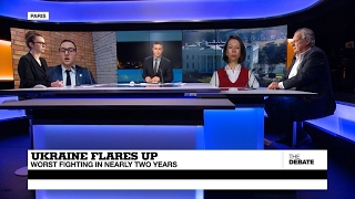 (Part 1)  Ukraine Flares Up: Worst Fighting in Nearly Two Years