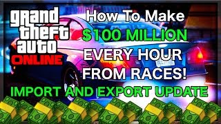 GTA 5 Online Cash Codes!:http://moneycodes.my-free.website♔SUBSCRIBE! for the FRESHEST! GTA 5 Online Glitches!♔Support the video by spending 1 second clicking the 'Like' Button!Thanks :)New Method allowing you to win up to $500,000 Per Race won in the New GTA 5 Online Update 'Import and Export'Don't forget to leave a Like! Enjoy :)