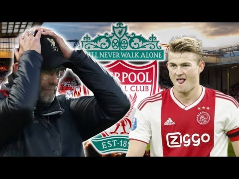 Liverpool News Today : Barcelona Target Matthijs De Ligt Gives Reds Transfer Hope With Ajax Claim