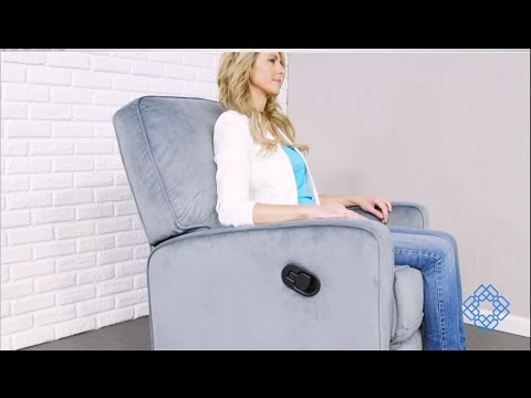 Video for Sutton Grey Swivel Glider Recliner