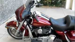 6. 2009 Harley-Davidson Electraglide Classic, 200mm rear tire, Vance & Hines exhaust, hear it