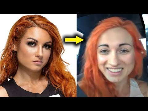 10 WWE Women Who Look Different in Real Life 2019 - Becky Lynch with No Make Up