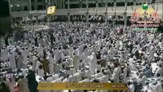 خطبة الجمعة - الشيخ اسامه خياط - المسجد الحرام - الجمعة 23 ذو الحجة 1435