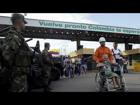 Η Κολομβία άνοιξε και πάλι τα σύνορά της για τους πολίτες της Βενεζουέλας