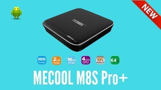 MECOOL M8S Pro Plus TV Box Amlogic S905X Android 7.1 2GB RAM 16GB ROMMECOOL M8S Pro+Get it Here:https://goo.gl/D2CixfIf your looking for a cheap budget android tv box with a lot of power then the MECOOL M8S Pro Plus could be the one at only £34Brand: MECOOLModel: M8S Pro+ Type: TV Box System: Android 7.1 Processor: S905X CPU: Amlogic S905X Core: 2.0GHz GPU: Mali-450 RAM: 2G ROM: 16G Max. Extended Capacity: TF card up to 32GB (not included)Join our forumhttp://www.briteccomputers.co.uk/forum