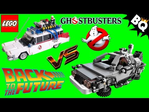LEGO Ghostbusters Ecto-1 21108 VS Back to the Future 21103 Comparison Review