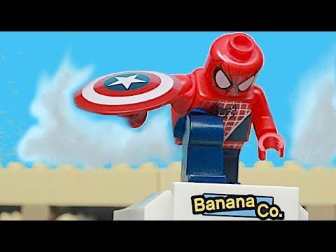 Video Captain America: Civil War Trailer Clip IN LEGO -
