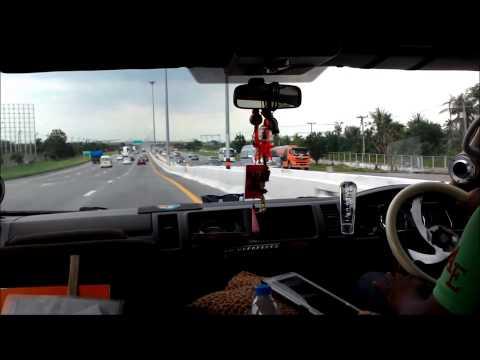 Bangkok to Pattaya Road Trip by car