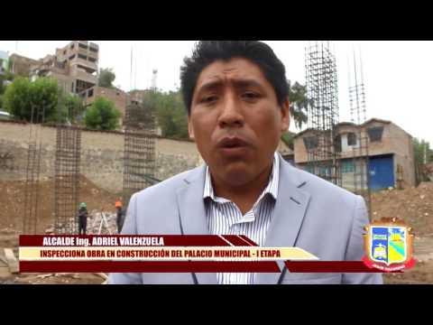 Alcalde  de la MDJN inspecciona centro Cívico