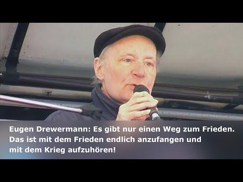 Protest gegen die Siko 2017: Rede von Eugen Drewermann