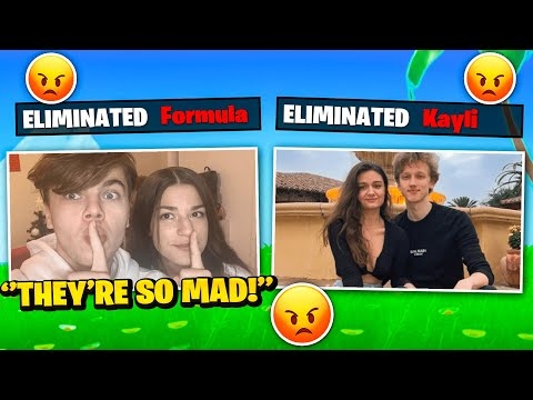 We stream sniped Formula & his GIRLFRIEND.. THEY RAGED (Fortnite)