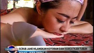 Javanese Spa Hilangkan Lelah dan Stres - Lintas Siang (12/1) Subscribe https://www.youtube.com/channel/UCClA-ARyOBi8gXYhvA83XXw.