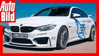 Fahrbericht / Hamann BMW M4 / Geht M4 noch besser? by Auto Bild