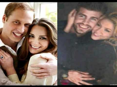 Shakira And Piqué As William And Kate