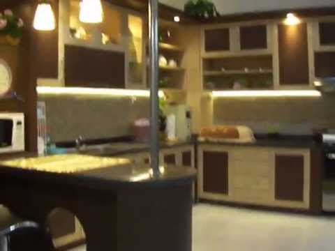 video kitchen set yang sudah jadi by