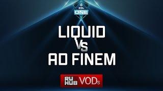 Liquid vs Ad Finem, ESL One Genting Quals, game 2 [LightOfHeaveN, Jam]