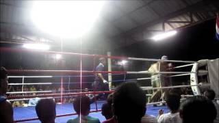 Thai Boxing Koh Tao Thailand Jan 2013