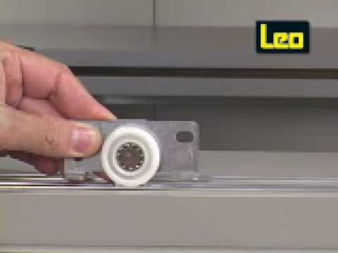 Sistema de porta de correr SL56 com capacidade para 40KG