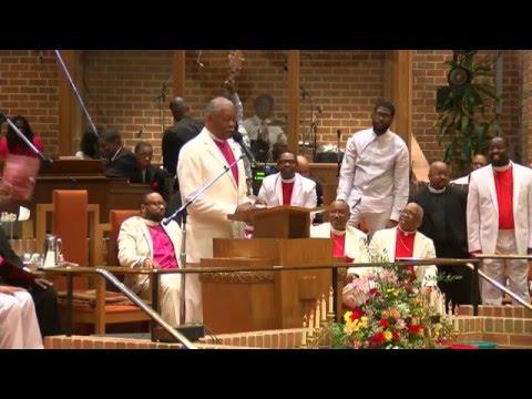Bishop Alphonzo Brooks at Apostolic Pentecostal Fellowship 2016 - Bible Way Washington DC