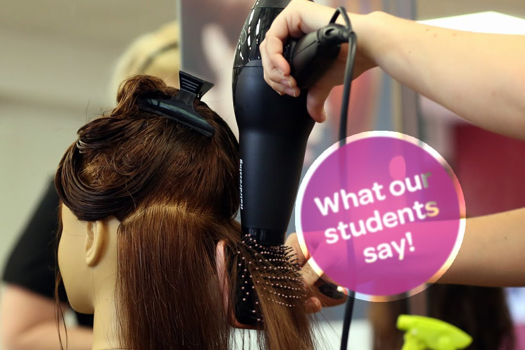 CAVC: What our students say - Hairdressing and Beauty