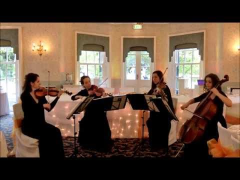 Wedding String Quartet - Canon In D (Best Version) (Johann Pachelbel)