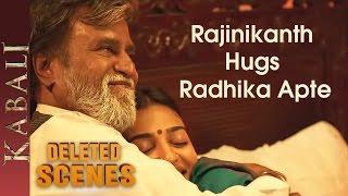 Rajinikanth and Radhika Apte Romantic Scene | Kabali Deleted Scenes