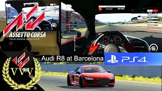 Gameplay - Audi R8 - Barcellona