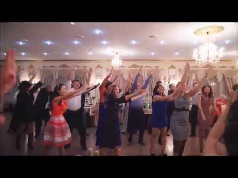 Танцевальный подарок от родителей на свадьбе 38