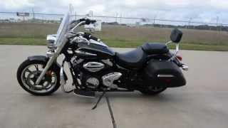 1. Used 2012 Yamaha VStar 950 tourer Black Overview and Review