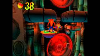 Crash Bandicoot 2 - Sewer Or Later: 2nd Clear Gem [All Gems Walkthrough]